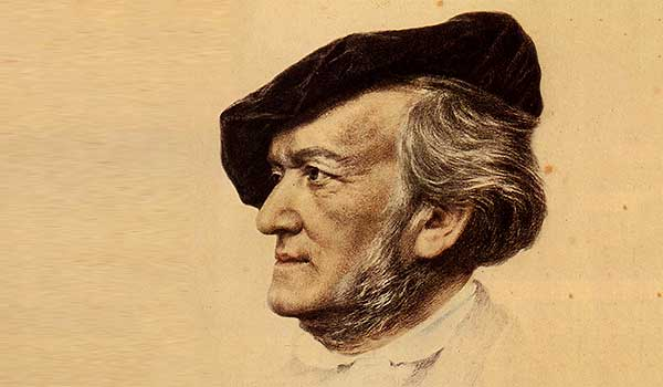 wagner richard by Franz von Lenbach